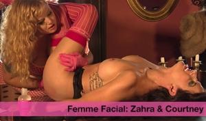 FEMME FACIAL: Zahra Stardust & Courtney Trouble