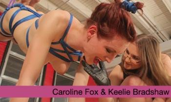 Femme4Femme Suspension Fuck: Caroline Fox and Keelie Bradshaw