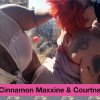 Cinnamon Maxxine & Courtney Trouble