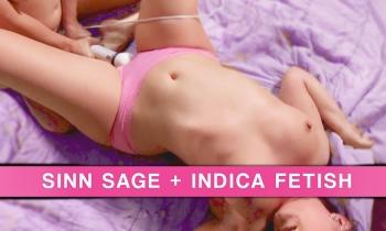 Wet Panties: Sinn Sage and Indica Fetish