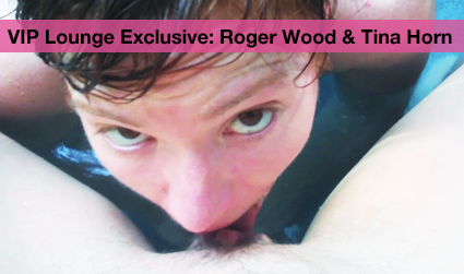 VIP Lounge Exclusive : Roger Wood & Tina Horn