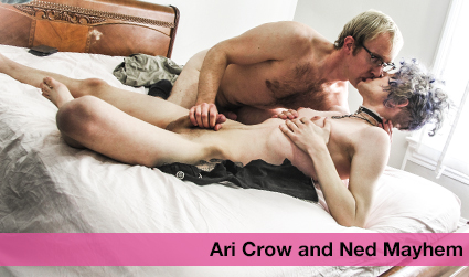Ari Crow and Ned Mayhem