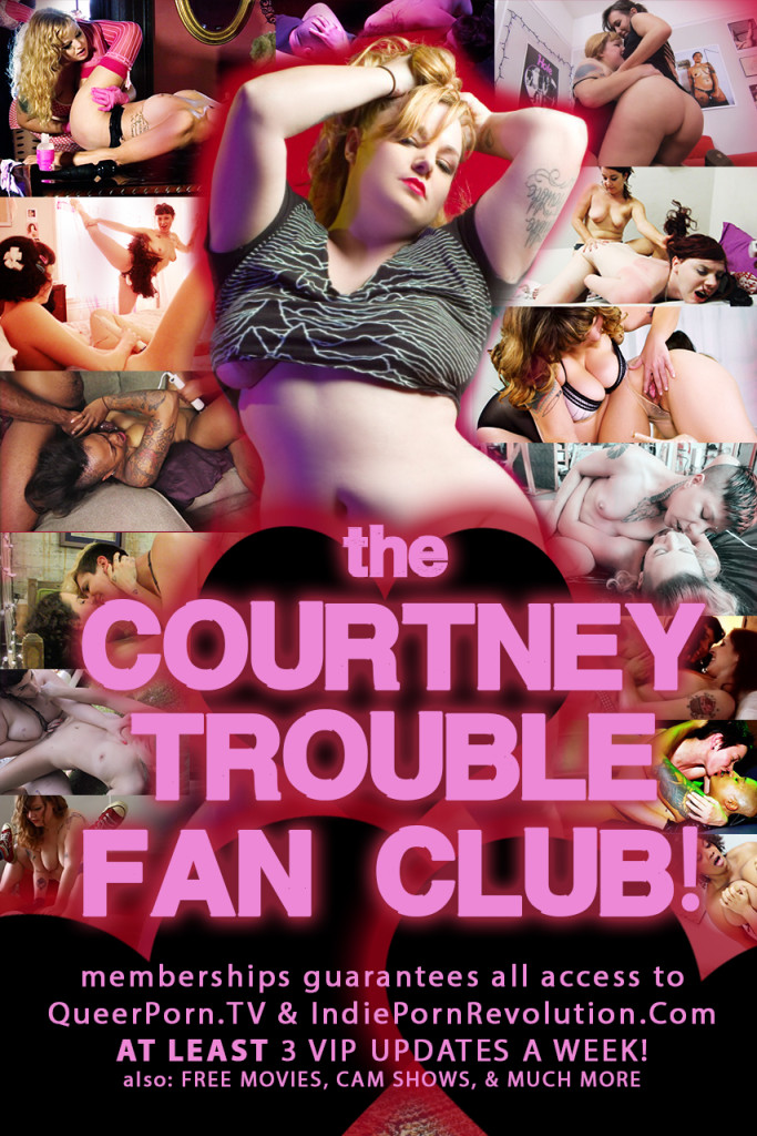 courtneytroublefanclubflyer
