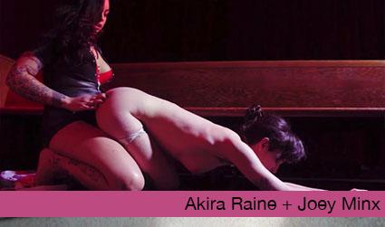 The Temptation of the High Priestess: Akira Raine and Joey Minx