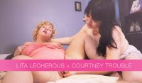 Lita Lecherous and Courtney Trouble